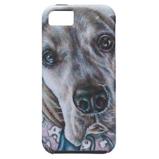 Great Dane Dog Drawing Design iPhone 5 Covers
