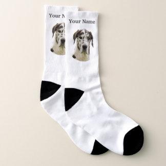 Great Dane dog Socks