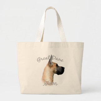 Great Dane (fawn) Mom 2 Large Tote Bag