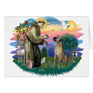 Great Dane (fawn, natural) Card