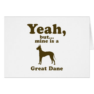 Great Dane Greeting Card