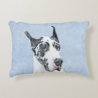 Great Dane (Harlequin) Accent Pillow