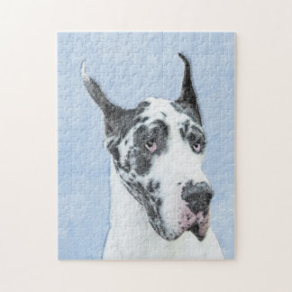 Great Dane (Harlequin) Jigsaw Puzzle