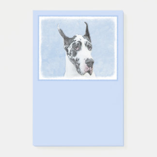 Great Dane (Harlequin) Post-it Notes