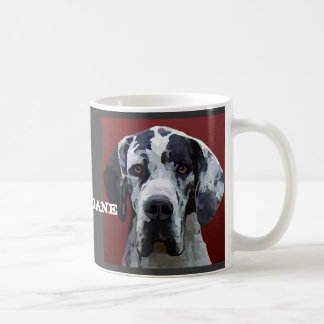 Great Dane Harly Face Mug