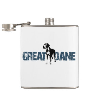 Great Dane Hip Flask