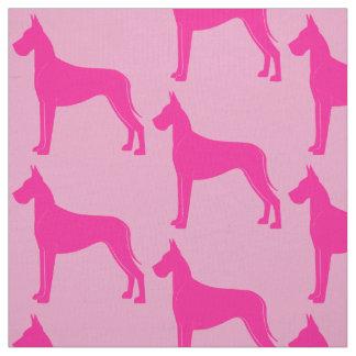 Great Dane in Silhouette Fabric