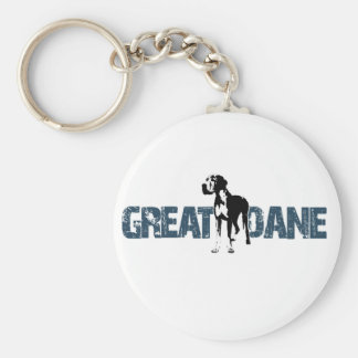 Great Dane Keychain