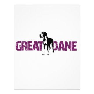 Great Dane Letterhead