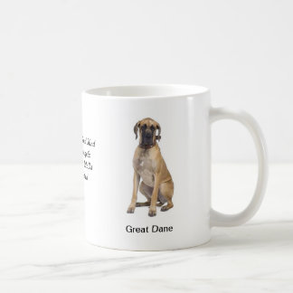 Great Dane Mug - With two images and a motif