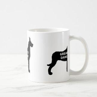 Great Dane name silo Coffee Mug
