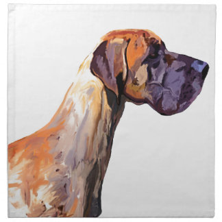 Great Dane Napkin