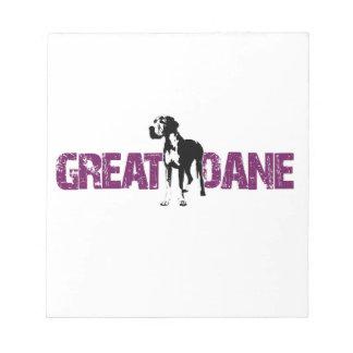 Great Dane Notepad