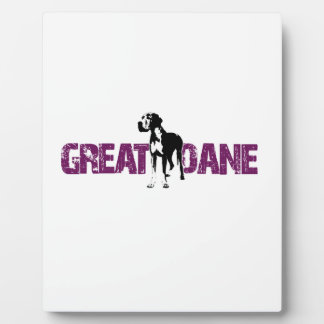 Great Dane Plaque