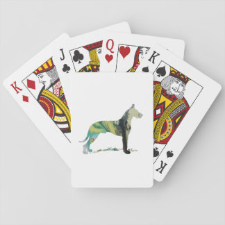 Great Dane Playing Cards