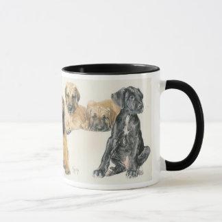 Great Dane Puppies Mug