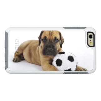 Great Dane puppy with toy soccer ball OtterBox iPhone 6/6s Plus Case