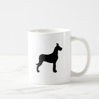 Great Dane silhouette Coffee Mug