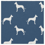 Great Dane Silhouettes Pattern Fabric