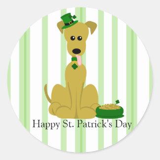 Great Dane - St. Patrick Sticker