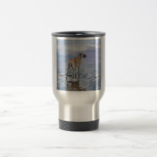 Great Dane stainless travel mug