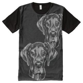 Great Dane T-Shirt with original artwork