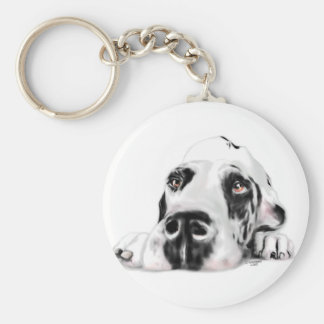 Great Dane UC Harle Sweet Savannah Keychain