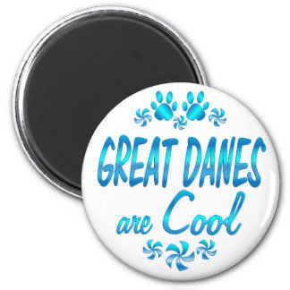 Great Danes are Cool Magnet