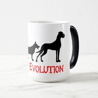 Great Danes Evolution is funny Magic Mug