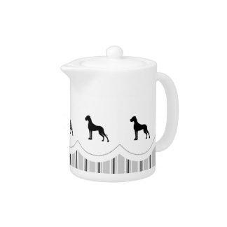 Great Danes Teapot