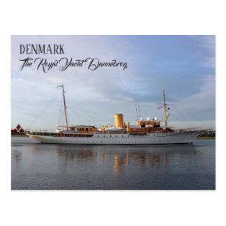 Great Denmark, The Royal Yacht Dannebrog Postcard! Postcard
