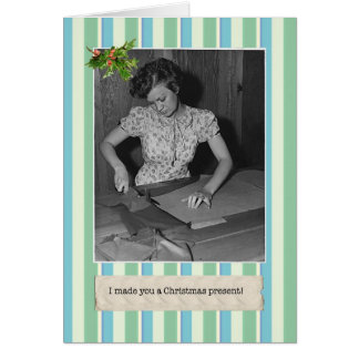 Great Depression Funny Christmas Cards
