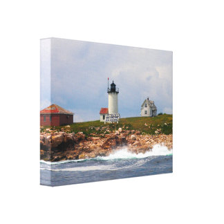 Great Duck Island Lighthouse, Maine Canvas Print