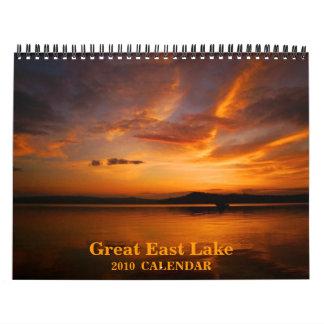 Great East Lake 2010 Calendar