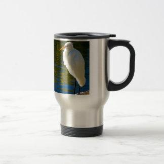 Great Egret 2 Travel Mug