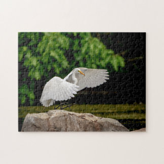 Great Egret Jigsaw Puzzle