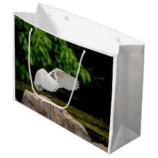 Great Egret Large Gift Bag