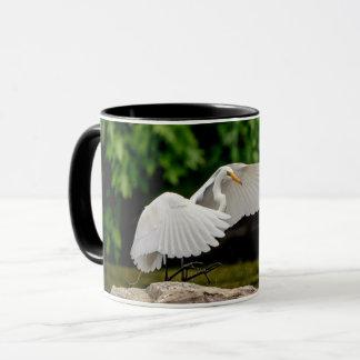 Great Egret Mug