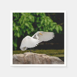 Great Egret Napkin