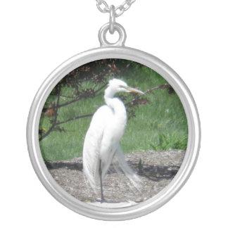 Great Egret Necklace