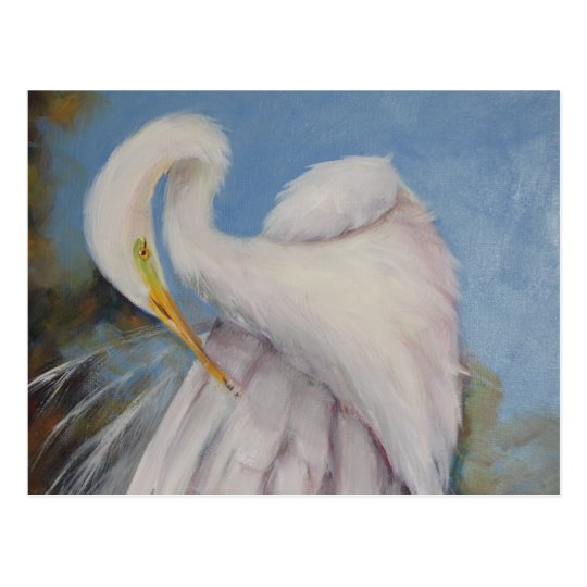 Great Egret Postcard