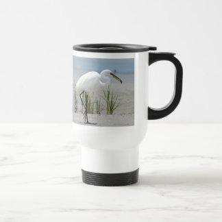 Great Egret Travel Mug