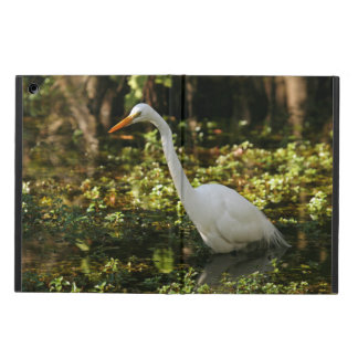 Great Egret Wading in Everglades Case For iPad Air