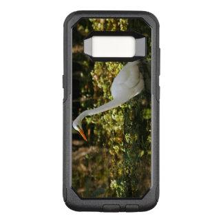 Great Egret Wading in Everglades OtterBox Commuter Samsung Galaxy S8 Case