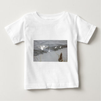 Great Egrets in a swamp Baby T-Shirt