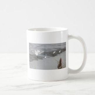Great Egrets in a swamp Coffee Mug