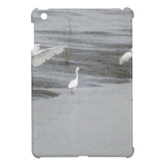 Great Egrets in a swamp iPad Mini Cases