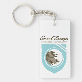 Great Escape Mustang Sanctuary Keychain