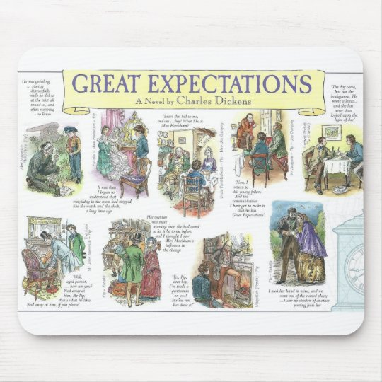 Great Expectations Mouse Pad
