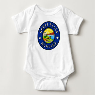 Great Falls Montana Baby Bodysuit